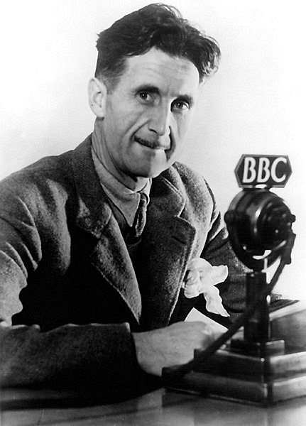 george orwell abc black-white
