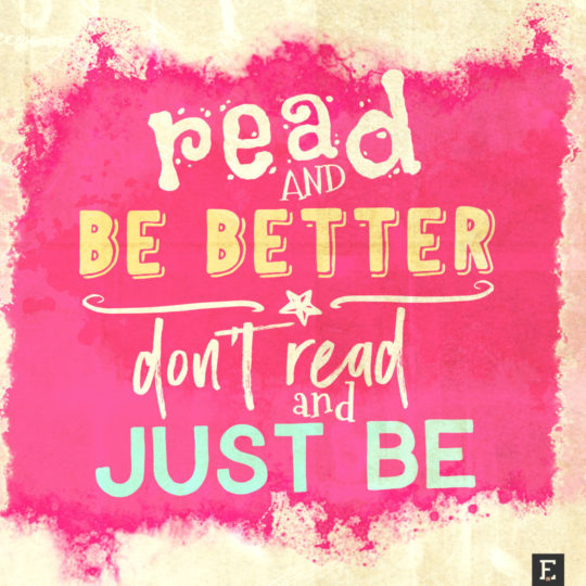 Read an be better. Don