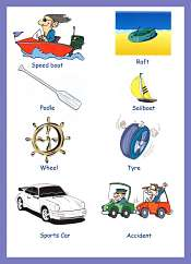 Transportation Picture Vocabulary
