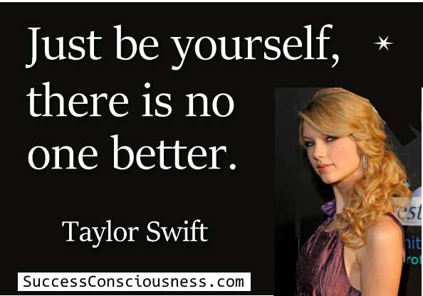 Be Yourself Taylor Swift